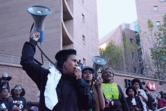 CSO organisations & GBV movements shut down the economic hub of South Africa, the Johannesburg Stock Exchange